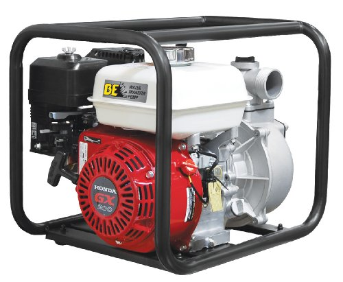 "B E Pressure WP-3065HL Water Transfer Pump, 3"", GX200, 264 GPM, 6.5 HP"