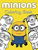 Minions Coloring Book: 30+ GIANT Fun Pages with Premium outline images with easy-to-color, clear shapes, printed on a high-quality paper that can ... pencils, pens, crayons, markers or paints.