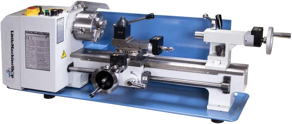 LittleMachineShop.com HiTorque 7350 Deluxe Lathe with trust Mini 7x16 Nippon regular agency