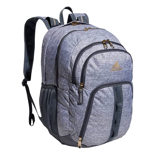 adidas Prime Backpack Mochila, Jersey Grey/Onix Grey/Gilver, Talla única Unisex