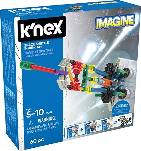 K'Nex 35462 Imagine - Juego de construcción y construcción de Juguetes espaciales, Caja de construcción, transportador de Espacios, Juego de construcción para niños de 5 – 10 años, Piezas