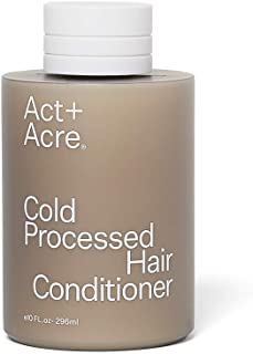 Act+Acre- Cold Processed Conditioner delivers nourishment and moisture to the hair cuticle. Rich in natural oils, it leaves your hair hydrated and soft, 10 FL oz