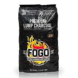 professional Fogo Premium Oak Restaurant Grill and Smoked Natural Hardwood Ingot, 17.6 lbs.