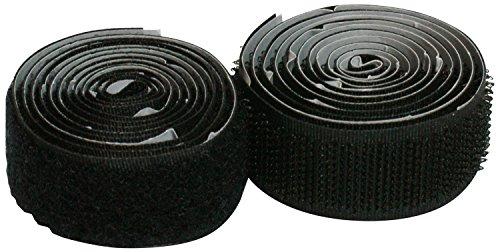Cora 000120672 Velcro Adesivo Rotolo, Maschio plus Femmina, 1.9x91 cm