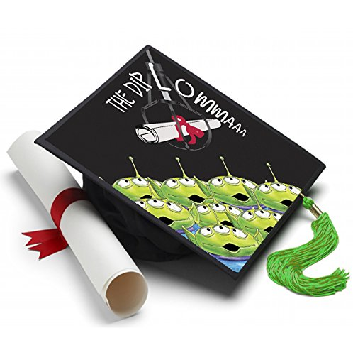The Diploma Grad Cap Tassel Topper