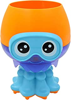 TOYANDONA Bathtub Toys Marine Animal Rotating Water Spray Bath Toys for Kids Toddlers Bath Wall Bath Time Toy