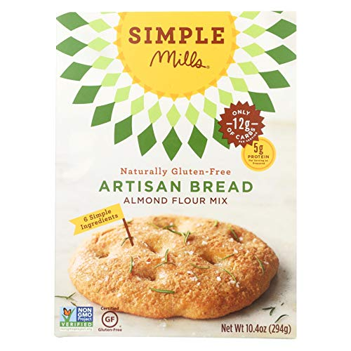 Simple Mills Almond Flour Artisan Bread Mix, 9.4 Ounce - 6 per case.