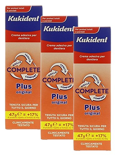 KUKIDENT COMPLETE PLUS 47 g - PACCO TRIPLO