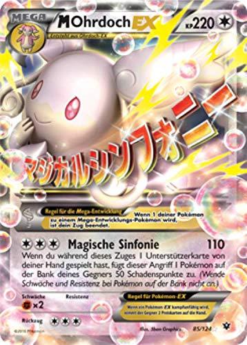 M Ohrdoch EX 85/124 Pokémon XY Schicksalsschmiede Sammelkarte - Deutsch - Cardicuno