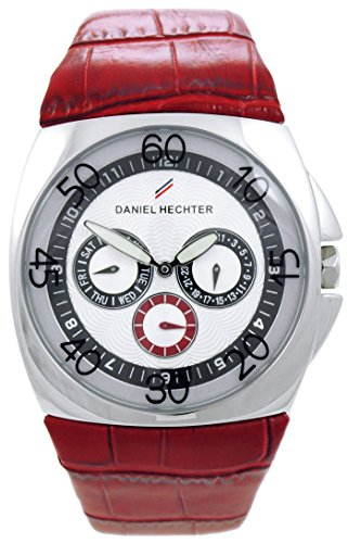 Daniel Hechter Herren-Armbanduhr Analog Quarz Leder DH03121AAR