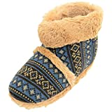 Absolute Footwear Mens Knitted Style Slipper...
