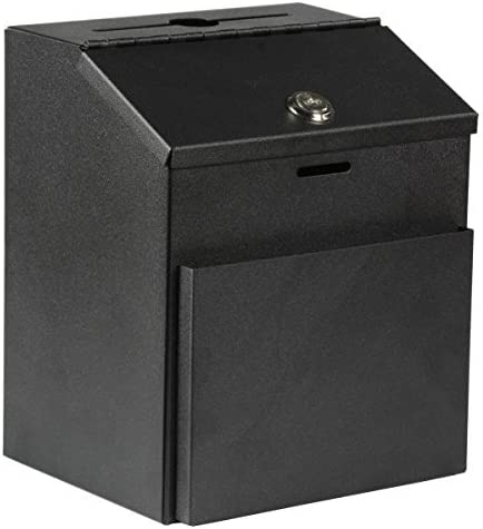 MCB ~ Super-cheap Metal Suggestion wholesale Box with Lock Wall Tabletop for Mount