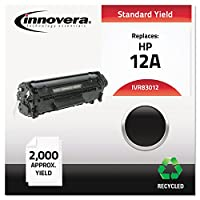 INNOVERA 83012 Compatible Remanufactured Toner 2000 Page-Yield Black Reliable Cost Efficient by Innovera