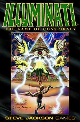 Pegasus Spiele Steve Jackson Games 1305 - Deluxe Illuminati, englische Ausgabe