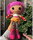 NC188 (No Box) 30cm Lalaloopsy Dolls Soft Stuffed and Plush Toys Magic Hair Lalaloopsy Toys Gifts for Girls-Purple