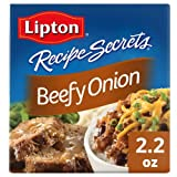 Lipton Recipe Secrets Soup & Dip Mix Beefy Onion (Pack of 2)