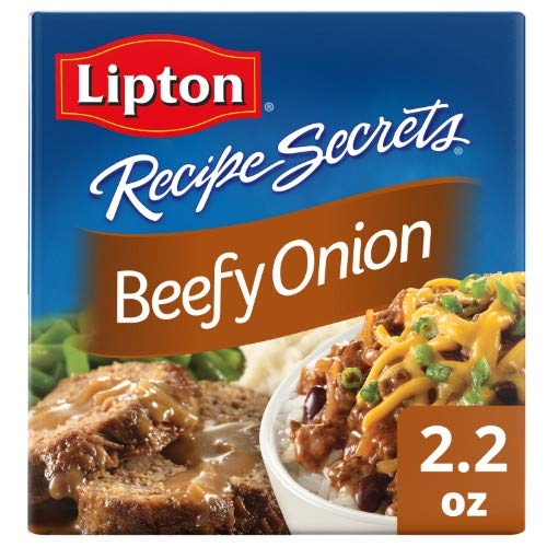 Lipton Recipe Secrets Soup & Dip Mix Beefy Onion (Pack of 4)