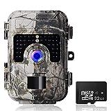 Caméra de Chasse Camera de Chasse Faune 1080P avec Camera Chasse Vision Nocturne Camera Infrarouge IP66 Imperméable de Mouvement de Vision Nocturne | 12MP | 65ft