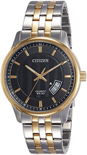 Citizen Analog Black Dial Men's Watch-BI1054-80E