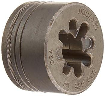 Hobart 261157 0.024 and 0.030-0.035 Drive Roll V-Grove for TREK 180 Battery Welder