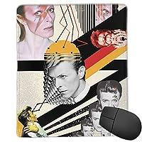 David Bowie デヴィッド・ボウイ コンピュータ周辺機器アニメマンガゲームマウスマウスパッドキーボードパッド特大防水滑り止めファッションかわいい商品25x30cm