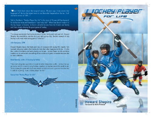 Hockey Player For Life