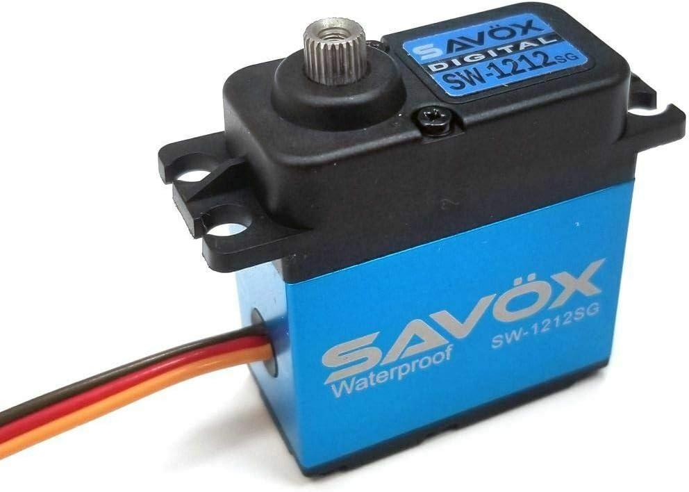Savox スピード対応 全国送料無料 1212SG Waterproof CORELESS Digital 638oz 0.14 HI 在庫処分 sec SERVO