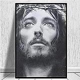 IFUNEW Cuadro de Arte de Pared Jesús De Nazareth Arte de la Moda impresión Cartel Imagen Pared Sala de Estar decoración del hogar 60x90cm