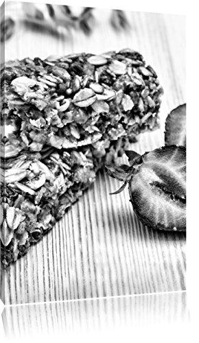Gezonde graanrepenFoto Canvas | Maat: 100x70 cm | Wanddecoraties | Kunstdruk | Volledig gemonteerd