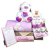 MabyBox Teddy Bear | Canastilla Bebé | Regalo Bebé Personalizado | Canastilla...