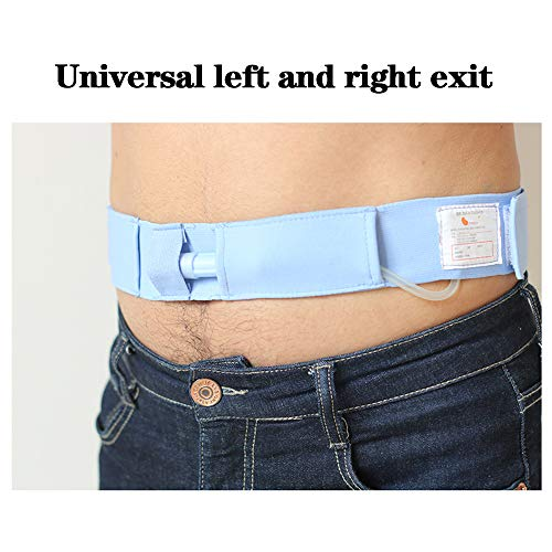 KHXJYC Bauchkatheter-Fixierungsgerät, elastischer Dialyseschutzgürtel, peritonealer, unsichtbarer Taillen-Drainageschlauchgürtel,1Pcs,M