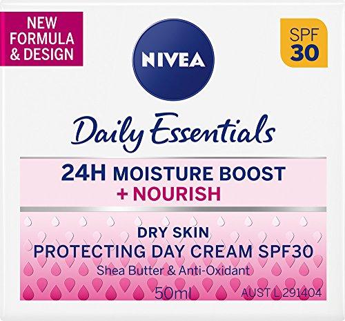 NIVEA Daily Essentials Nourish Protecting Day Cream SPF30, 50ml