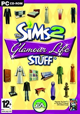 The Sims 2: Glamour Life Stuff (PC CD)