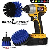 Boat Accessories - Kayak - Cleaning Supplies - Drill Brush - Rotary Cleaning Brushes for Boats And Watercraft...
