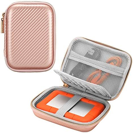 Comfyable External Hard Drive Case for 2 5 inch Hard Drive EVA Shockproof Portable Foam Padded product image