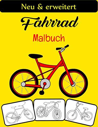 Fahrrad Malbuch: Das coolste und lustigste Fahrrad Malbuch, perfekt für Jungen, Mädchen und Erwachsene, die Fahrrad lieben.