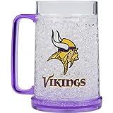 Minnesota Vikings NFL Crystal Freezer Mug