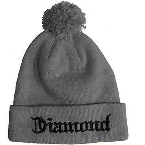 Diamond Supply Co. Diamond 4 Life Beanie Red