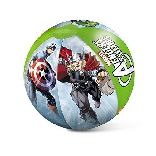 Lively Moments Balle pour Piscine/ Beachball/ Balle à Jouer / Ballon de Plage Marvels The Avengers