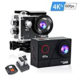 Toyaword outdoor sport Action Cam 4K 60FPS 20MP Sportkamera 40M wasserdichte Unterwasserkamera WiFi...