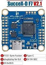 $53 » iFlight SucceX-D F7 TwinG Dual ICM20689 Flight Controller F7 FC Built-in OSD BEC Current Sensor Black Box for DJI FPV Air Unit (HD Version)