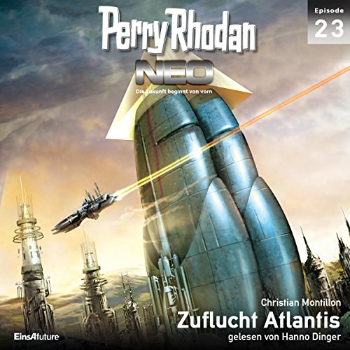 Zuflucht Atlantis audiobook cover art