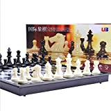 Travel Chess Set, Chess Board Set Game, Fold Magnetic Chess Piece Set - 25*12.5*4cm