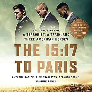 The 15:17 to Paris audiobook cover art