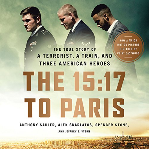 The 15:17 to Paris audiobook cover art