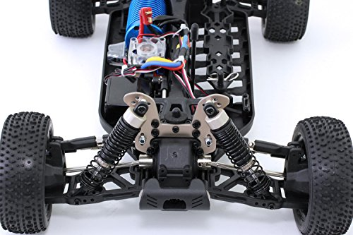 XciteRC 30320000 - ferngesteuertes RC Auto One10 Buggy 4WD Brushless, rot