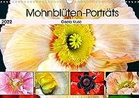 Mohnblueten-Portraets (Wandkalender 2022 DIN A3 quer): Mohnblumen - interessant und ausdrucksstark (Monatskalender, 14 Seiten )
