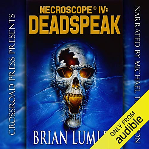 Necroscope IV: Deadspeak audiobook cover art