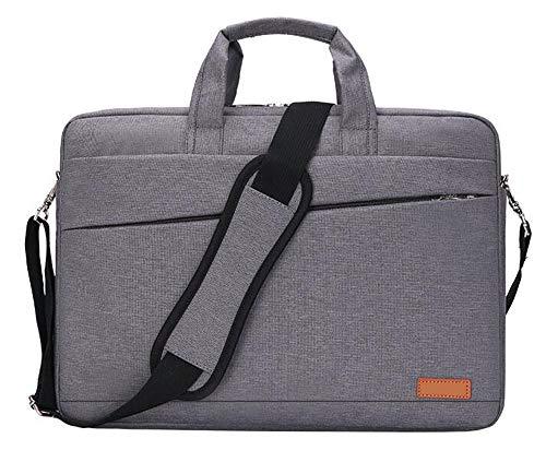 15.6 Inch Laptop Sleeve Aktetas Case Ultradun En Licht Nylon Schoudertas Dikte Uitbreidbaar Compatibel met 15