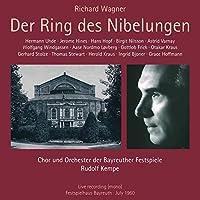 『ニーベルングの指環』全曲 ルドルフ・ケンペ&バイロイト、ハンス・ホップ、ビルギット・ニルソン、他(1960 モノラル)(12CD)